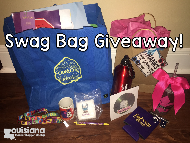 Swag Bag Giveaway